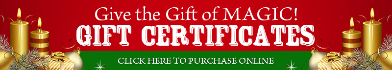 Purchase Gift Certificates Online