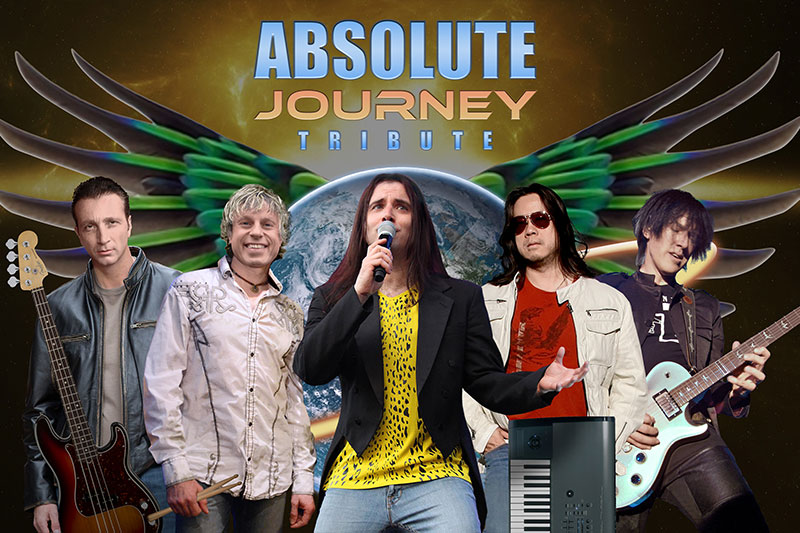 ABSOLUTE JOURNEY: International Journey Tribute playing at the Greg Frewin Theatre Wednesday, April 12th, 2017
