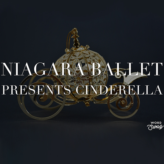 Niagara Ballet Presents Cinderella playing at the Greg Frewin Theatre - March 27th, 2019