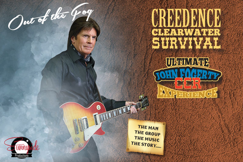 Creedence Clearwater Survival | The Ultimate John Fogerty - CCR Experience at the Greg Frewin Theatre - Friday, January 26th, 2018.