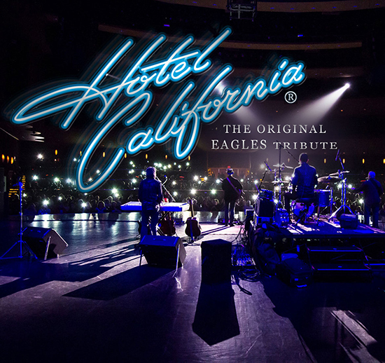 Hotel California Eagles Tribute Band playing at the Greg Frewin Theatre - Wednesday, November 15th, 2018.