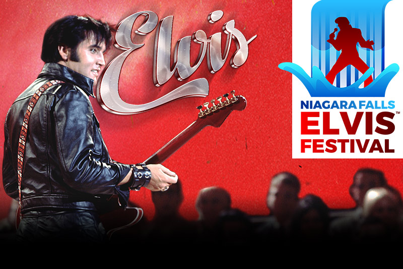 2018 Niagara Falls Elvis Festival playing at the Greg Frewin Theatre - April 20th, 21st, 22nd, 2018