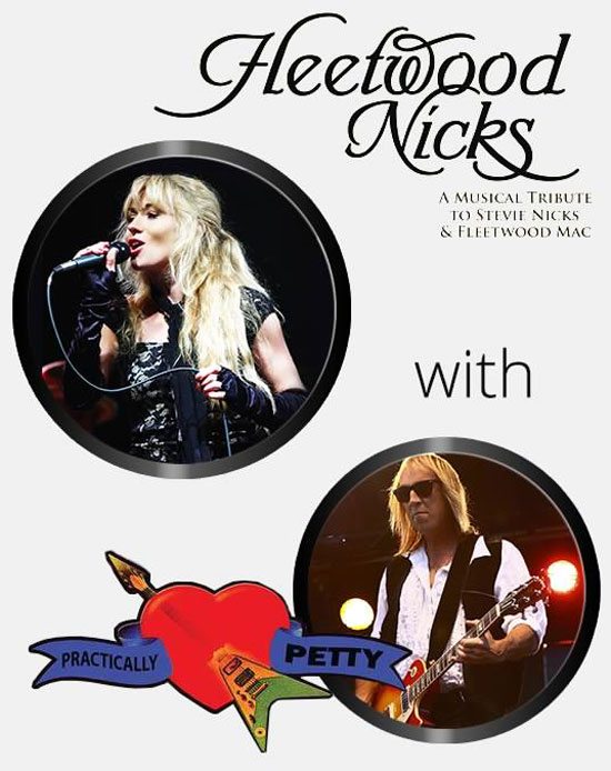 Fleetwood Nicks & Practically Petty Tribute playing at the Greg Frewin Theatre - Saturday February 9th, 2019.