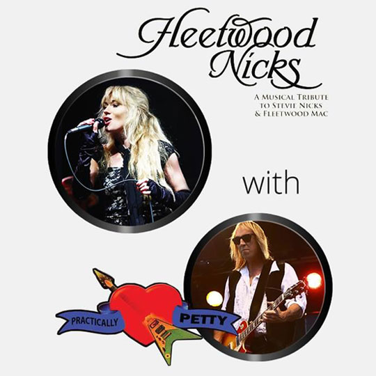 A Live Tribute to Fleetwood Mac & Tom Petty At The Greg Frewin Theatre Saturday February 9th, 2019