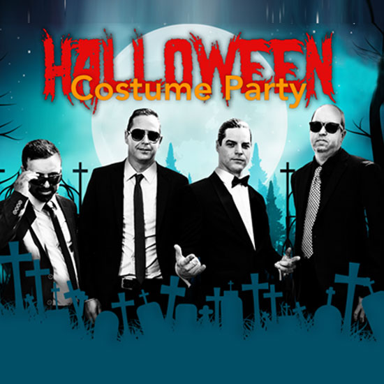 Halloween Costume Party at the Greg Frewin Theatre - Saturday, October 27th, 2018.