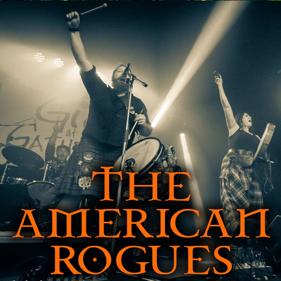 Irish Kitchen Party - Featuring The American Rogues, playing at the Greg Frewin Theatre - Tuesday & Wednesday, March 19th & 20th, 2019.