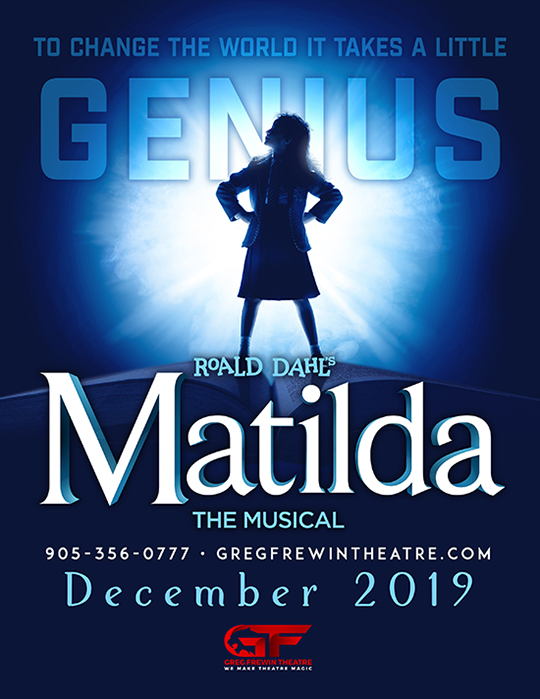 Matilda at the Greg Frewin Theatre - playing in November and December 2019