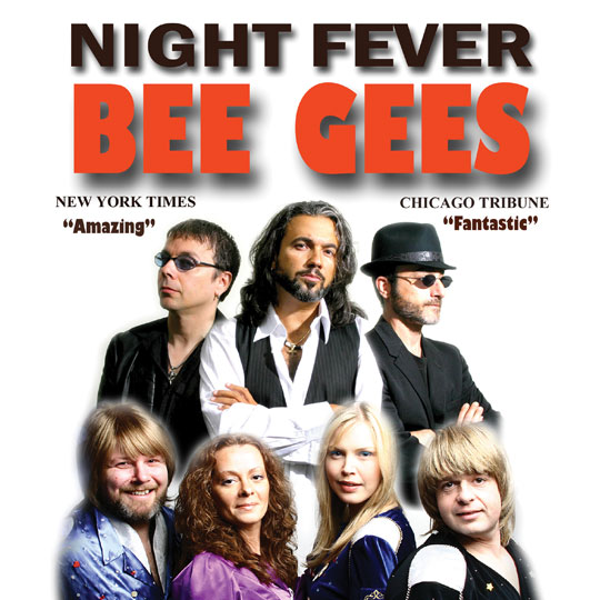 A Tribute to Night Fever: Abba & Bee Gees Tribute Band At The Greg Frewin Theatre Tuesday, November 22nd, 2018
