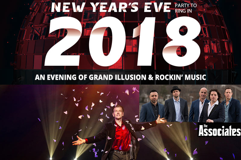 2018 New Year Gala playing at the Greg Frewin Theatre - December 31st, 2017.