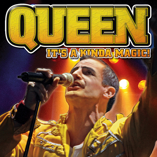 Queen: It's a Kinda Magic Tribute Band playing at the Greg Frewin Theatre - Wednesday, Sunday, June 10th, 2018.