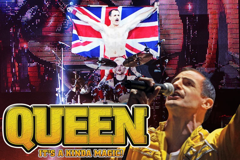 Queen: It's a Kinda Magic Tribute playing at the Greg Frewin Theatre - June 10th 2018.
