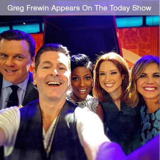 Greg Frewin On The Today Show