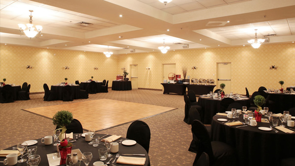 We also have a private banquet room perfect for accommodating smaller scale meetings.