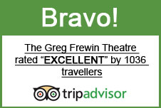 Rated Excellent by 1,266 TripAdvisor Reviews For Greg Frewin Theatre