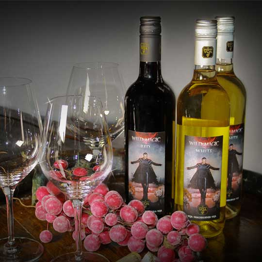 Greg Frewin Theatre Red & White Wine by Reif Estate Winery